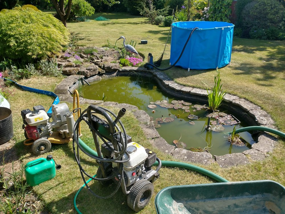 Pond Cleaning Suffolk